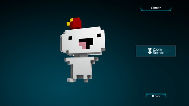 Gomez from Fez in Resogun
