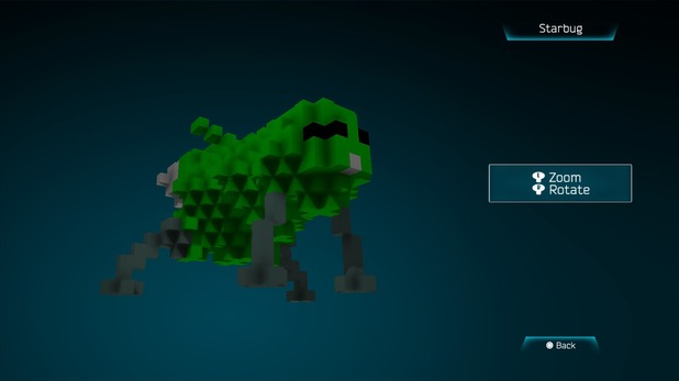 Starbug from Red Dwarf in Resogun