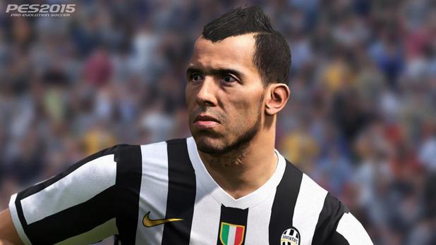 PES 2015 is the first game in the series for PS4, Xbox One