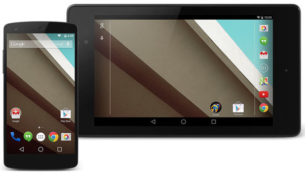 Android L developers preview