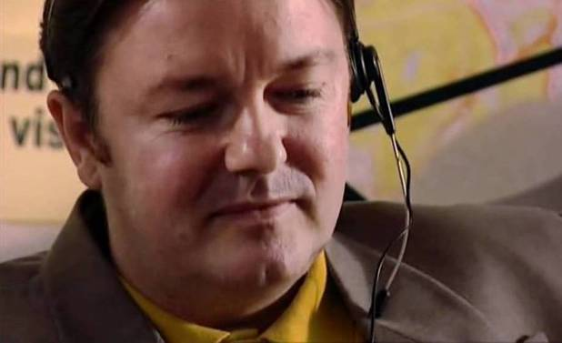 Ricky Gervais guest stars in Spaced