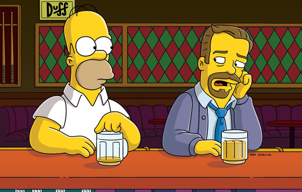 Ricky Gervais guest stars in The Simpsons