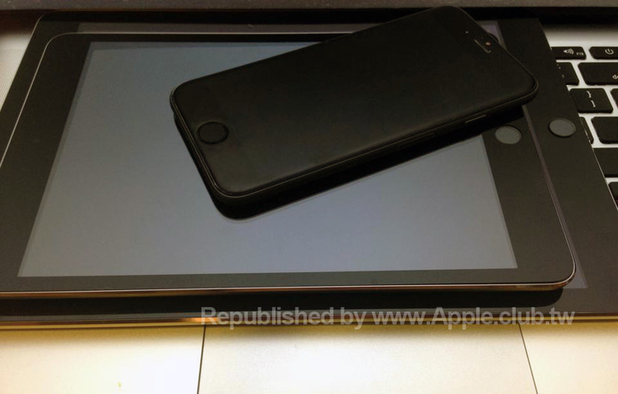 Purported iPhone 6, iPad mini 2 and iPad Air 2 spy shot