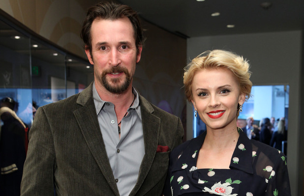 Noah Wyle and Sara Wells at Ringo: Peace & Love Exhibit VIP Launch Event at The GRAMMY Museum
