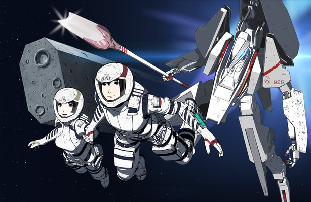Netflix original anime Knights of Sidonia