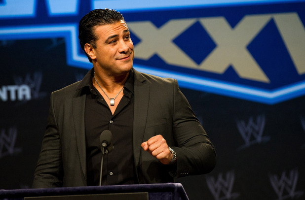Alberto Del Rio at the WrestleMania XXVII Press Conference