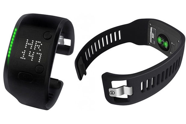 The Adidas miCoach Fit Smart band