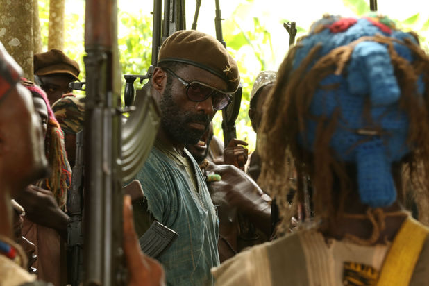 Idris Elba in Beast of No Nation