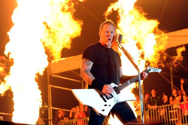 Metallica frontman James Hetfield.