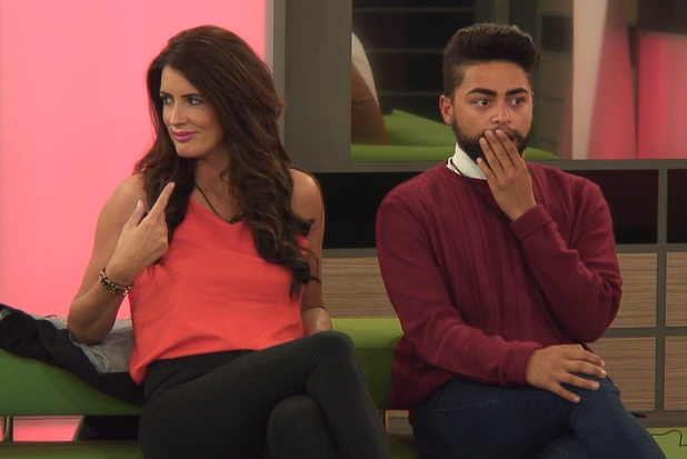 Helen and Mark during the eviction