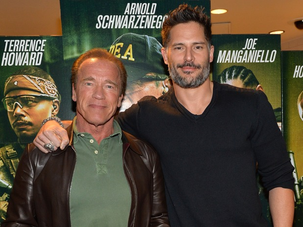 Arnold Schwarzenegger and Joe Manganiello