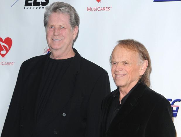 Brian Wilson with Al Jardine