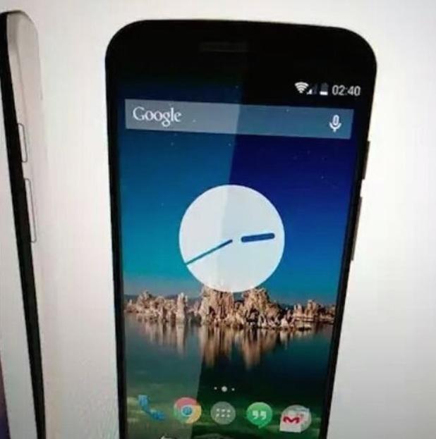 Motorola Moto X+1 smartphone photo leak