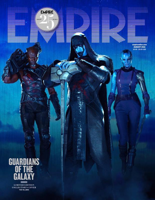 Guardians of the Galaxy: Empire's villain cover
