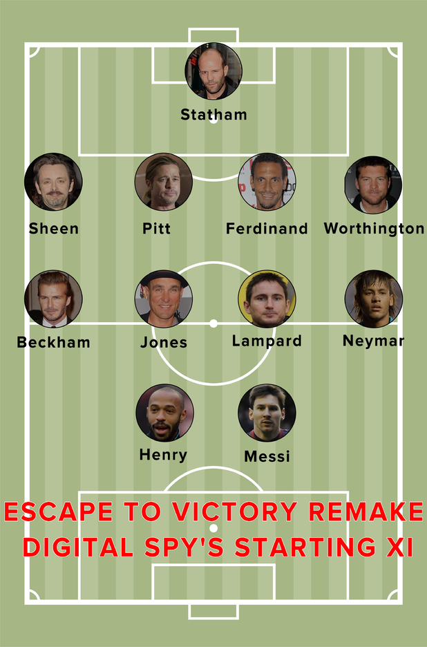 Escape to Victory remake | Digital Spy's starting XI