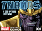 Thanos gets Marvel digital comic