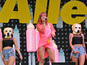 Lily Allen's zany Glastonbury: What happened