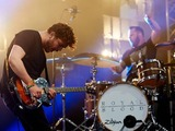 Mike Kerr and Ben Thatcher of Royal Blood performs on Day 2 of the Glastonbury Festival at Worthy Farm