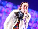 Arcade Fire's Win Butler performs in Italy.