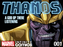 Thanos's son Thane stars in the Thanos: A God Up There Listening miniseries.