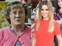 Brendan O'Carroll speaks to Digital Spy about meeting the X Factor judge.