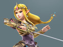 Princess Zelda takes out a horde of foes using only a conductor's baton.