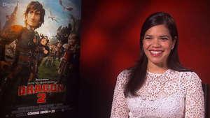 America Ferrera How To Train Your Dragon 2 interview
