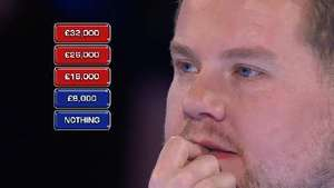 James Corden decides to buy Box 23 in Deal or No Deal