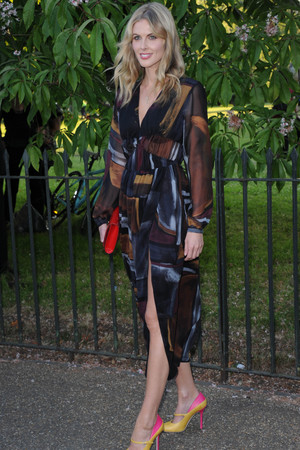 LONDON, ENGLAND - JULY 01: Donna Air attends the annual Serpentine Galley Summer Party at The Serpentine Gallery on July 1, 2014 in London, England. (Photo by Stuart C. Wilson/Getty Images)