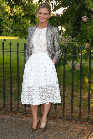 LONDON, UNITED KINGDOM - JULY 01: Emilia Fox attends the The Serpentine Gallery summer party at The Serpentine Gallery on July 1, 2014 in London, England. (Photo by Fred Duval/FilmMagic)