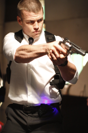 Luke Hemsworth in The Anomaly