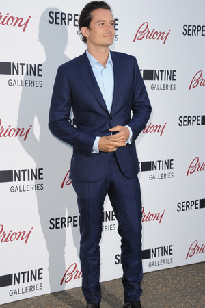 LONDON, ENGLAND - JULY 01: Orlando Bloom attends the annual Serpentine Galley Summer Party at The Serpentine Gallery on July 1, 2014 in London, England. (Photo by Stuart C. Wilson/Getty Images)