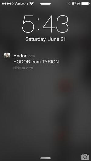 Yo, Hodor