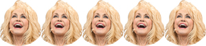 Five Dolly Partons
