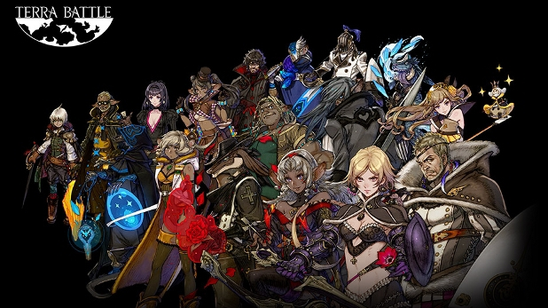 Terra Battle for iOS and Android