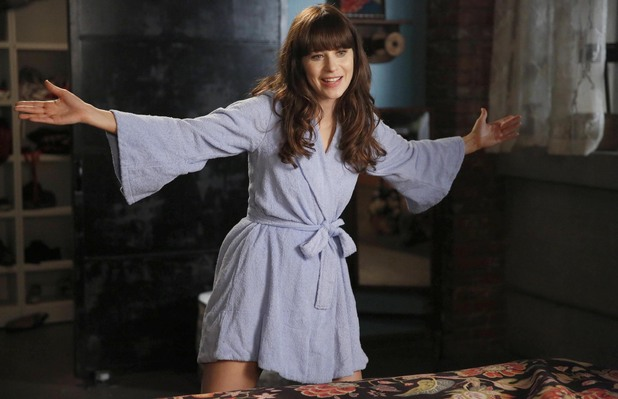 Zooey Deschanel as Jess in New Girl: Season 3, Episode 4