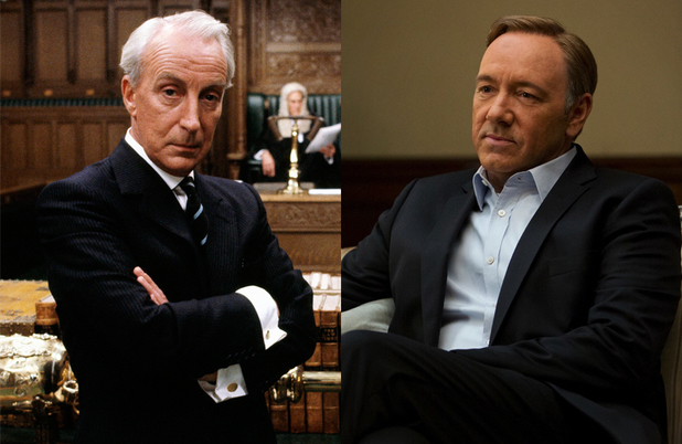House of Cards: Ian Richardson and Kevin Spacey