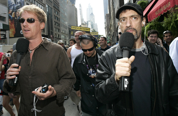 Gregg 'Opie' Hughes and Anthony Cumia