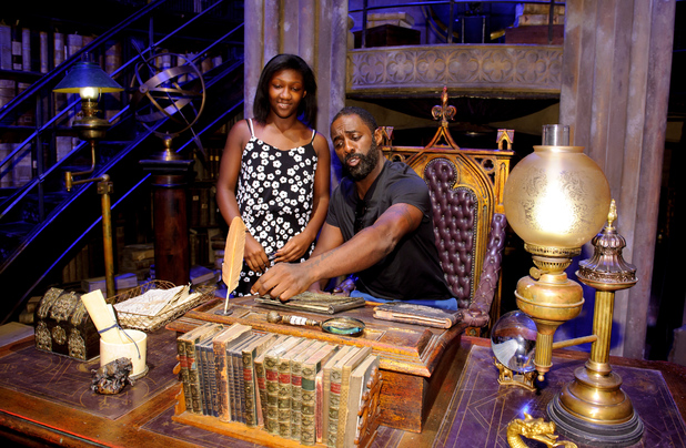 Idris Elba at a Harry Potter Summer Screenings event