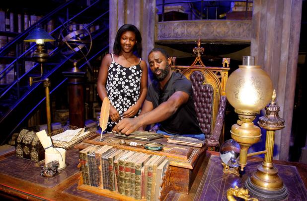 Idris Elba at a Harry Potter Summer Screenings event