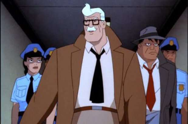 Commissioner Gordon in Batman: The Animated Series
