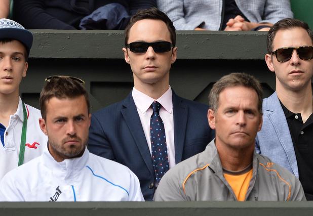 Jim Parsons attends Wimbledon 2014