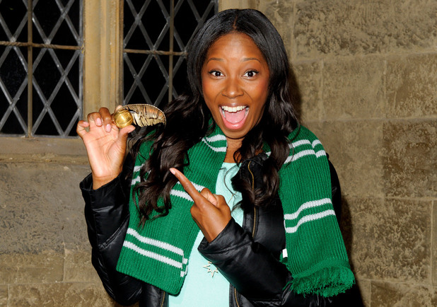 Jamelia at a Harry Potter Summer Screenings event
