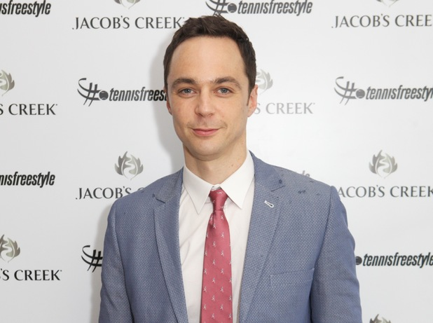 Jim Parsons in the Wimbledon Jacob's Creek VIP marquee