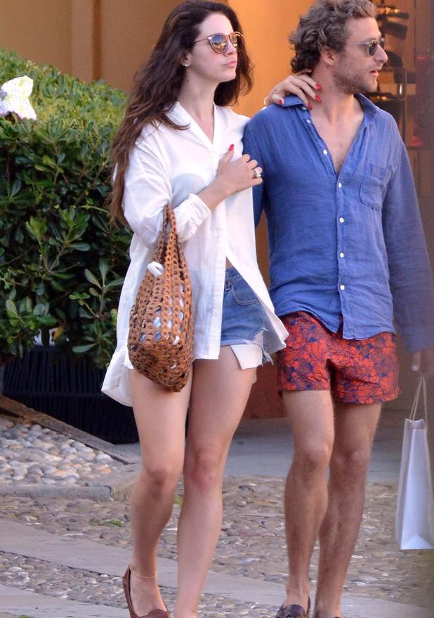 Lana Del Rey with new man Francesco Carrozzini