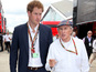 Celebs out in force at British Grand Prix