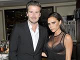 David Beckham (L) and Victoria Beckham attend a dinner to celebrate the 2013 CFDA/Vogue Fashion Fund Finalists