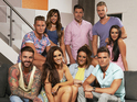 Get a glimpse of new boys Aaron and Kyle with the rest of the Geordie Shore gang.