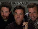 Jason Bateman, Jason Sudeikis and Charlie Day reprise their roles in the crime comedy.