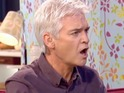 Phillip Schofield takes offense after Holly compares him to EastEnders' Pat Butcher.